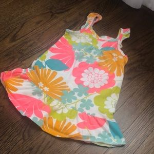 Carters Bright Dress/Cover Up